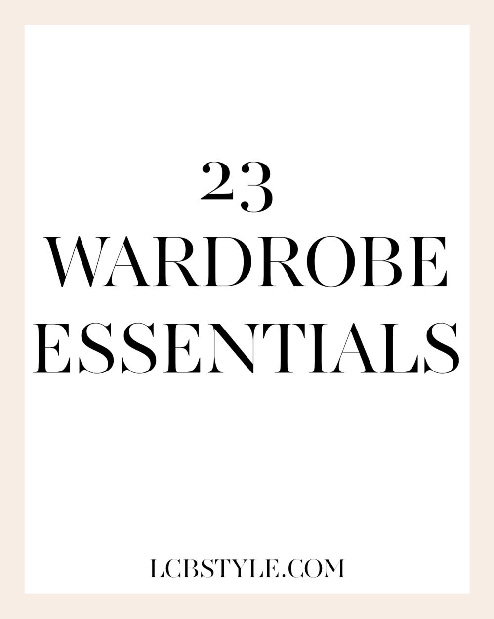 23WARDROBEESSENTIALS