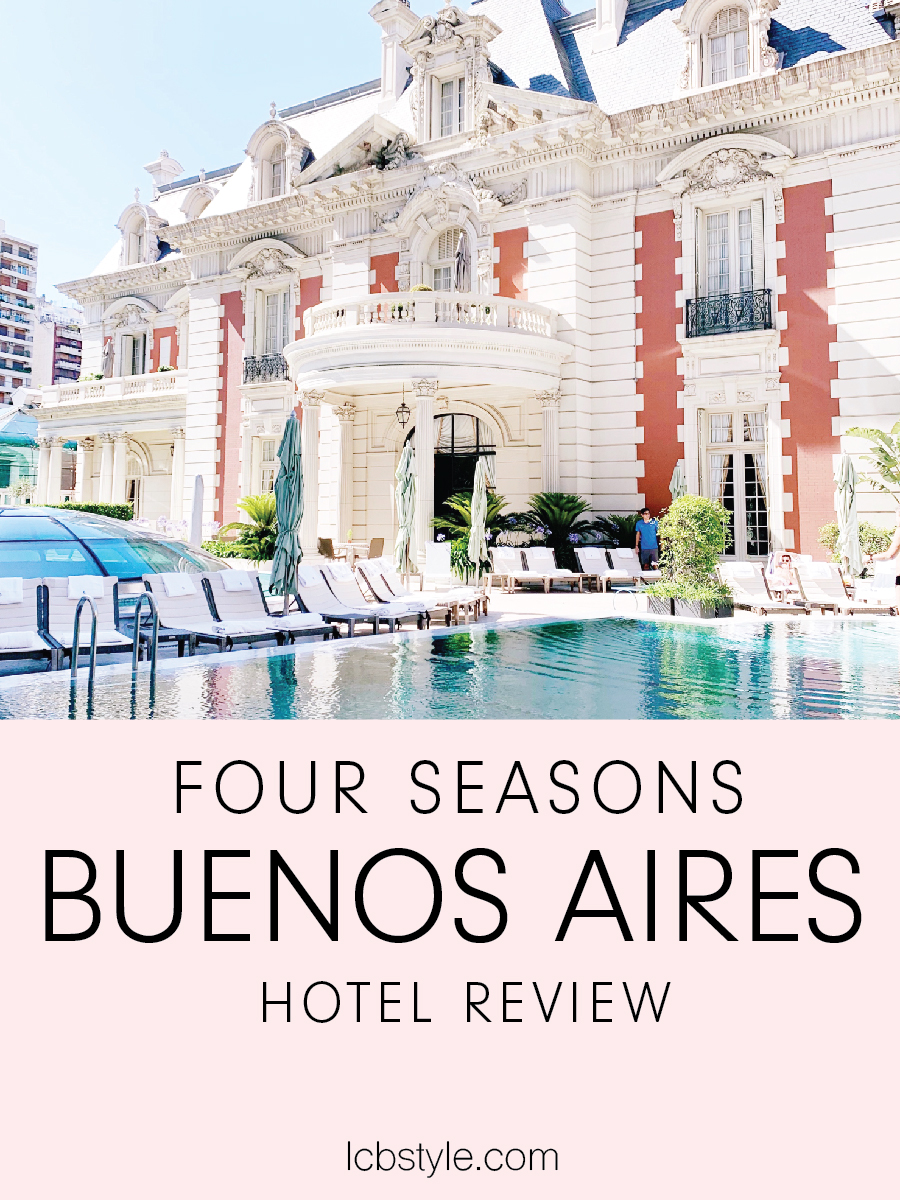 FOUR SEASONS Buenos Aires LCB STYLE