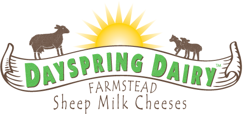 Dayspring Dairy, Sheep Milk Cheese & Caramel