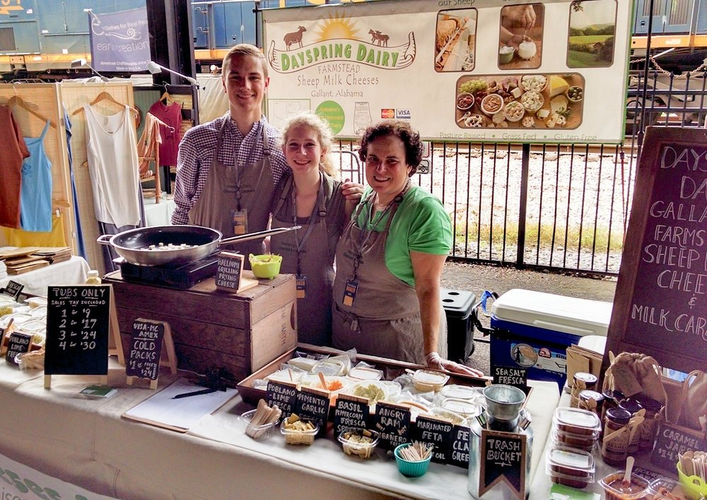 Owner, Ana Kelly (pictured right), at Southern Makers Event