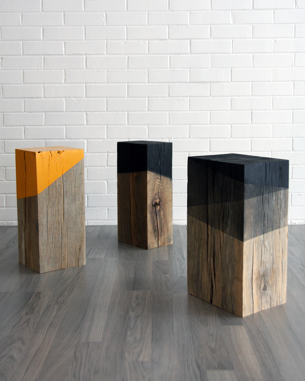 Solid Timber Side Tables