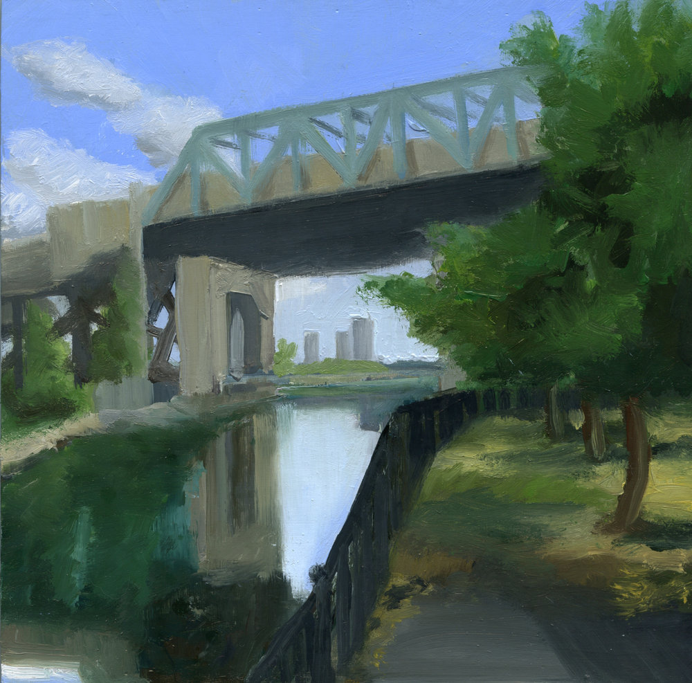 Under the Trestle Bridge
