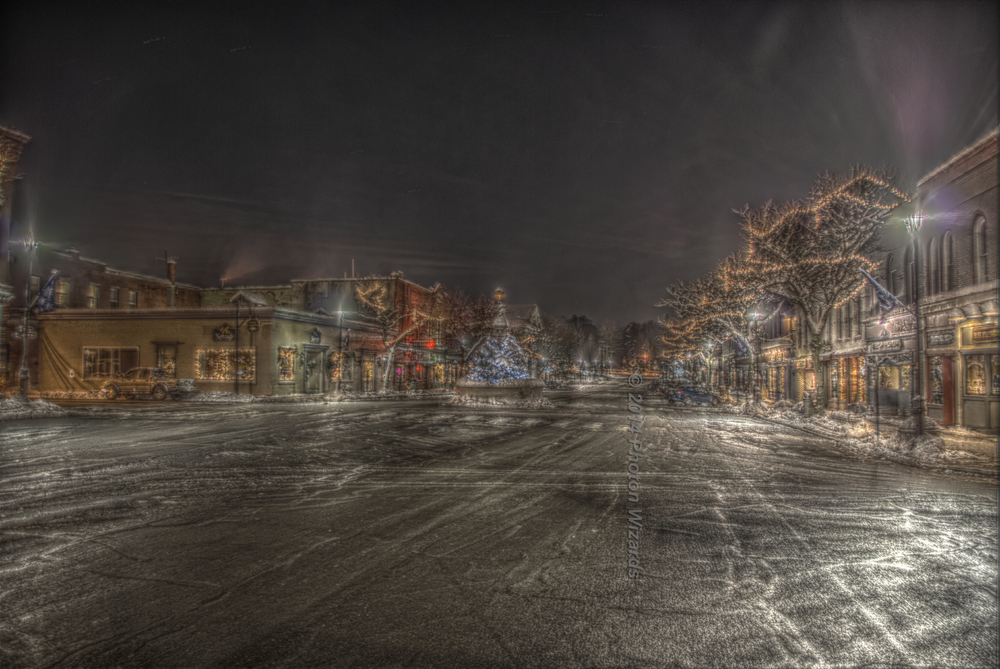 Main Street Geneseo at the Holidays
