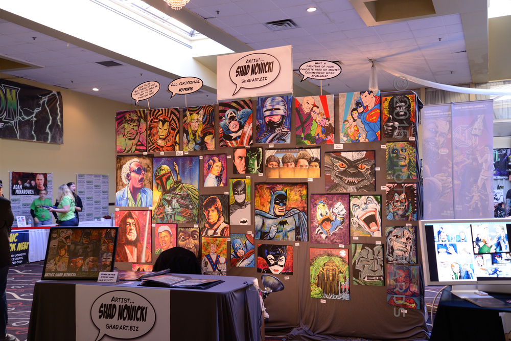 Shad Nowicki's Booth
