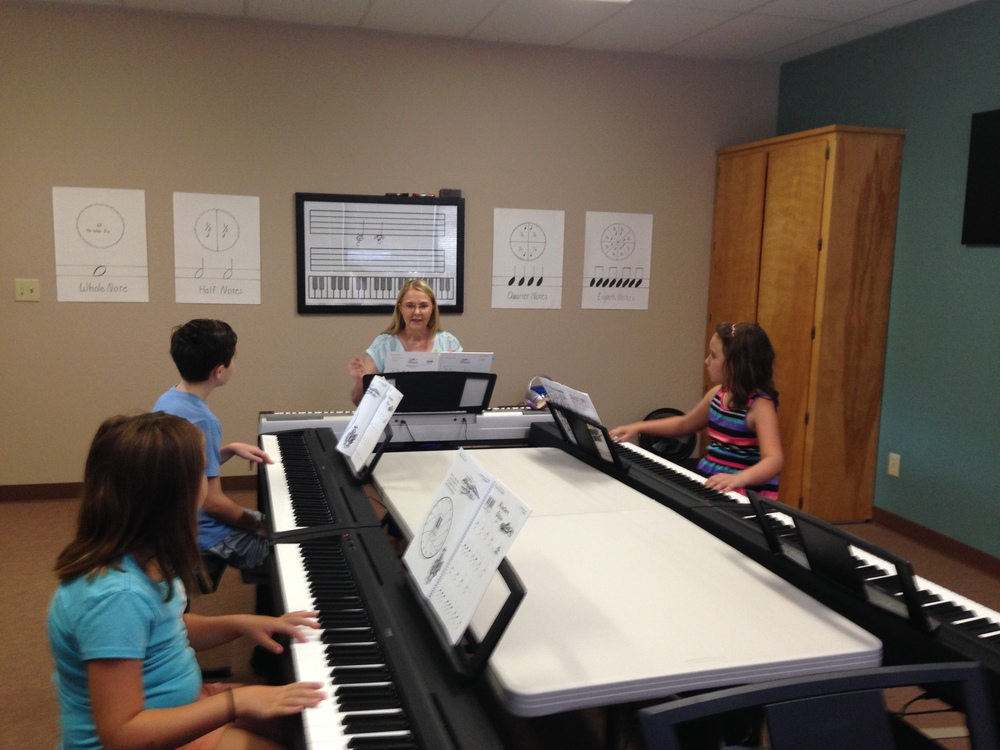 Blast-off with Piano class Summer 2014