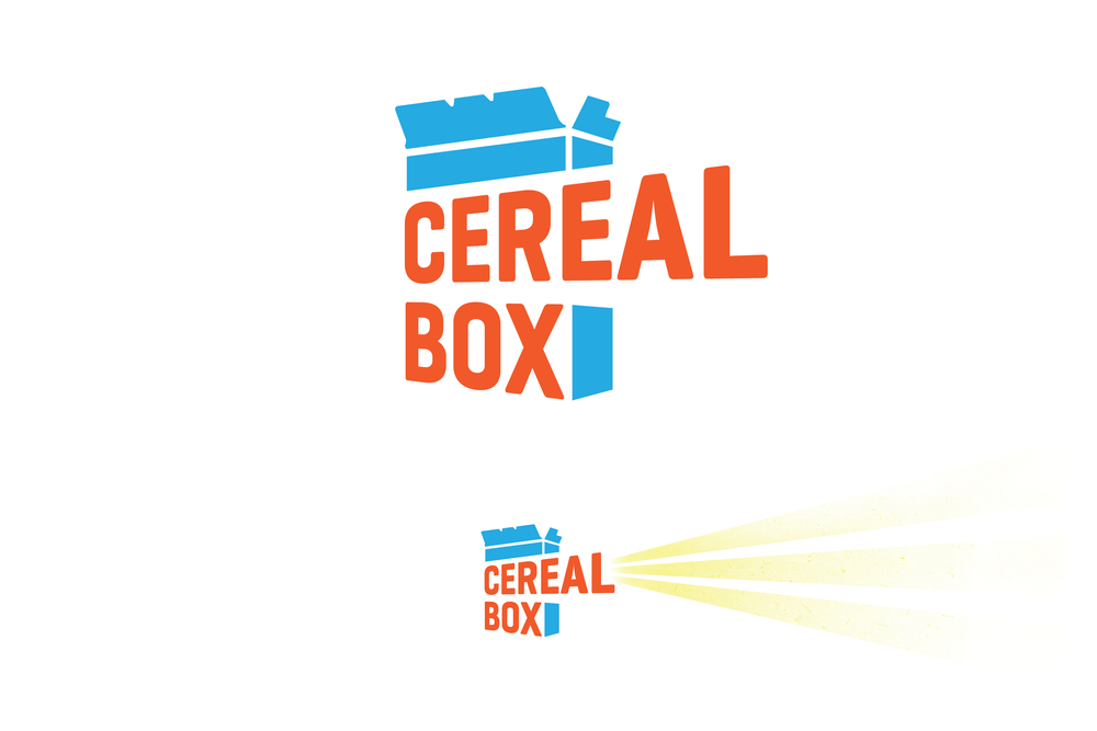 Cereal Box Post Production — Nick Caruso Design on cardboard box house, cracker box house, waffle box house, making house,