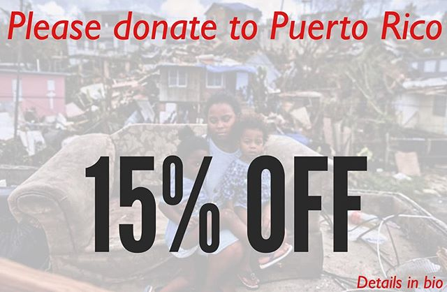 In the spirit of giving please help us in supporting this great cause created by one of our loyal customers @tanks_travels. When you donate and show proof of donation at register you will receive 15% off of your North Shore Poke Co. order. Small or big your contribution can help fuel this relief organization and provide aid to so many citizens of Puerto Rico who a still need our support. Please donate to Puerto Rico and you will receive 15% off your food when you present confirmation at register. Link in bio.