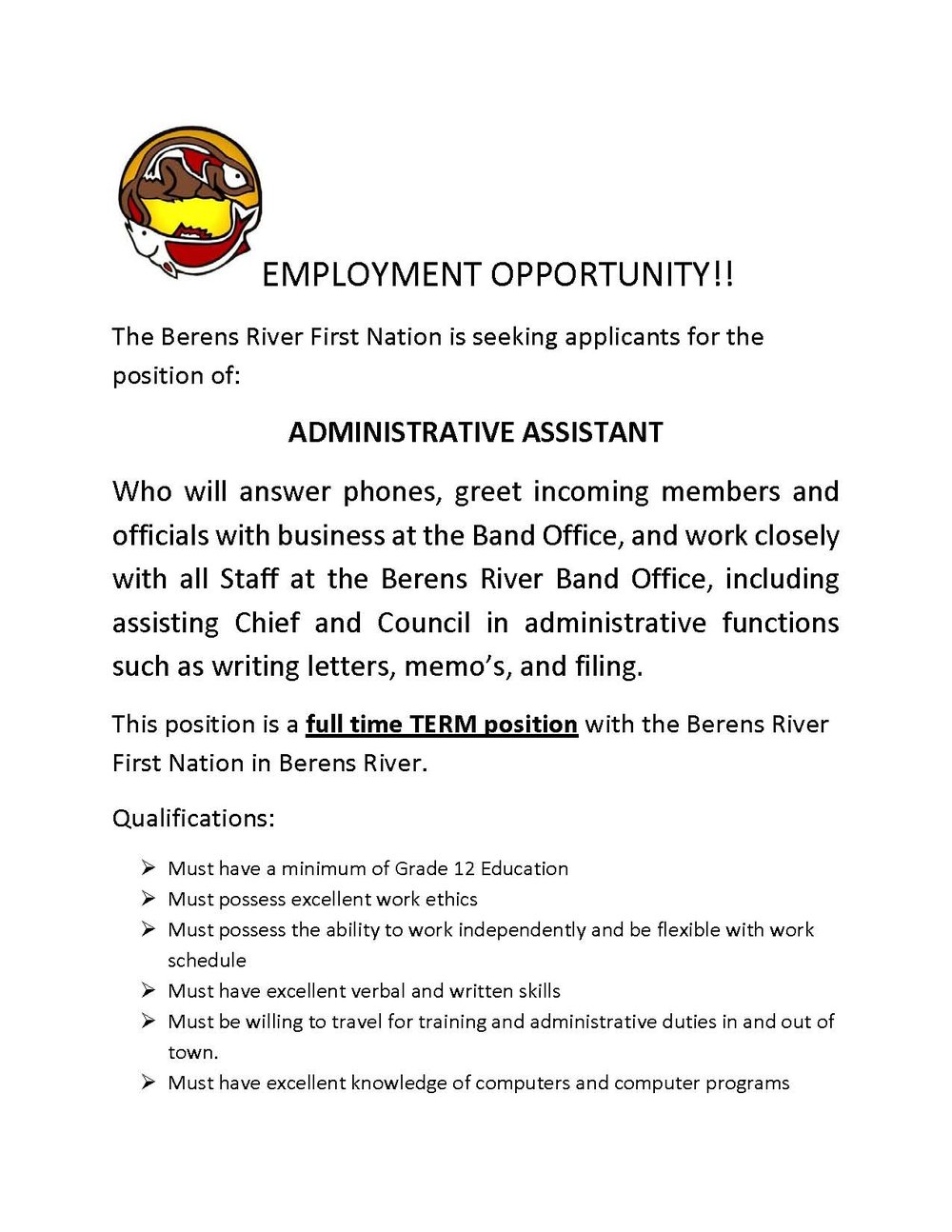 EMPLOYMENT OPPORTUNITY - Admin Assistant_Page_1.jpg