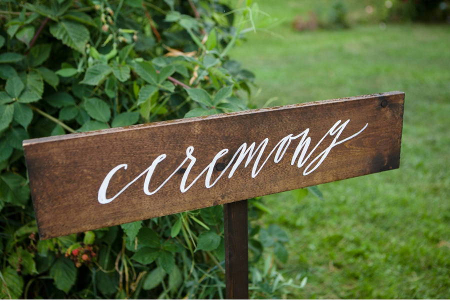 Ceremony Sign Calligraphy
