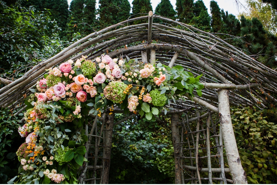 Floral Arch by A New Leaf