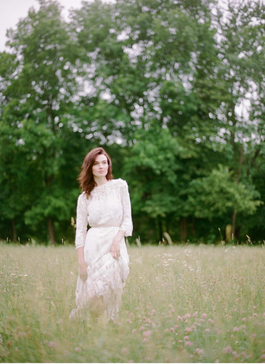 Bride-in-a-meadow