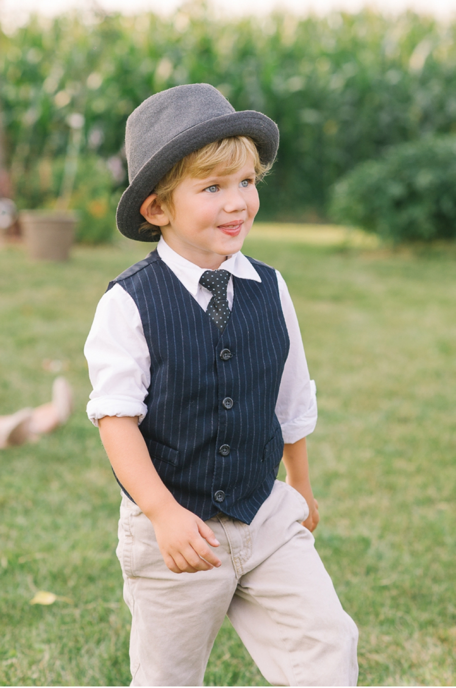 Ring-Bearer-with-vest-and-hat