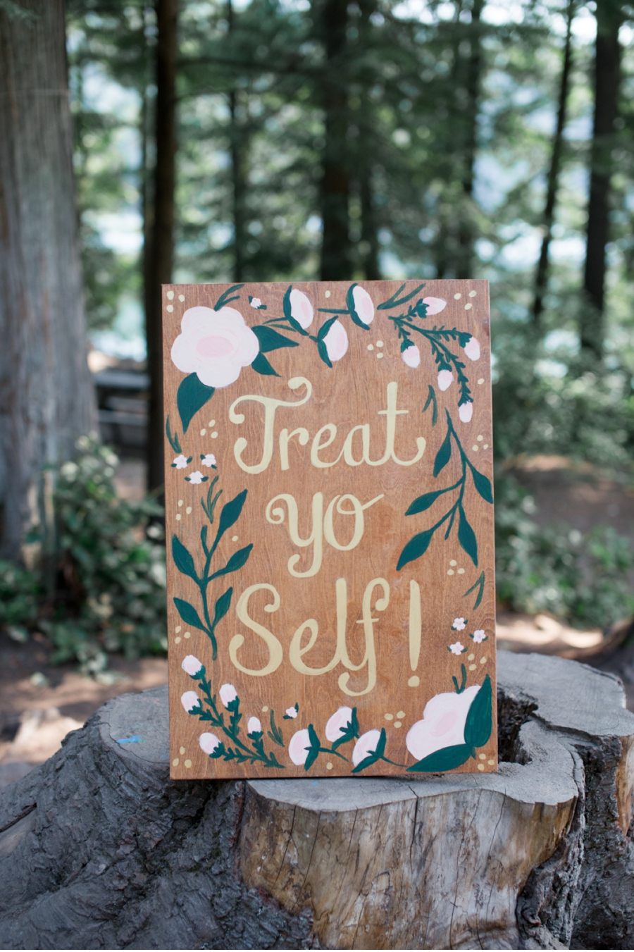 21. DIY script and signs bring extra fun to this summer camp wedding.  Photography by    Christie Graham Photography  .  View the full wedding   here  .