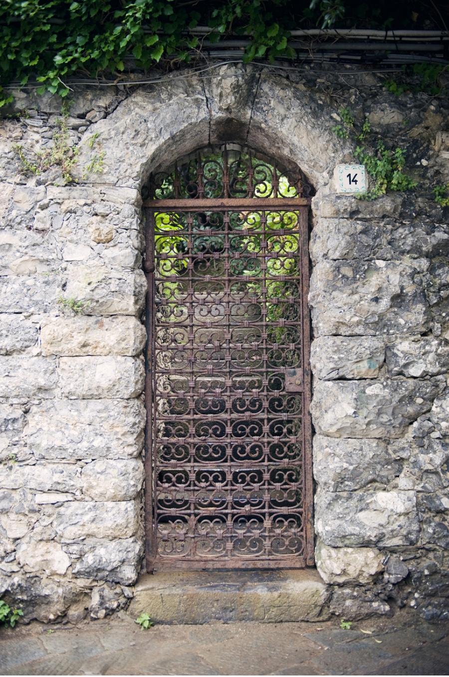 Stone-Wall-Iron-Gate