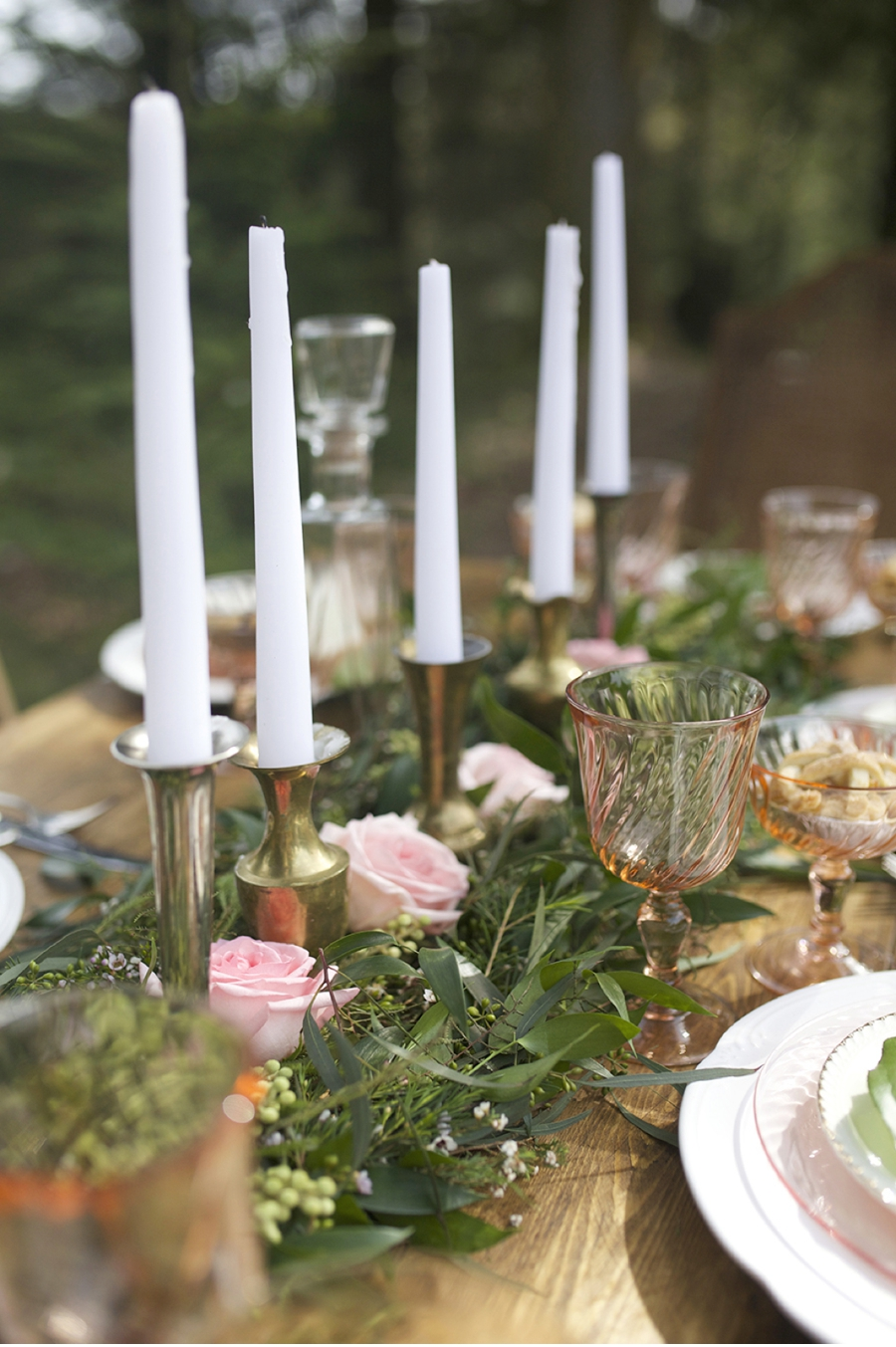 Pink-and-Green-Wedding-Tablescape