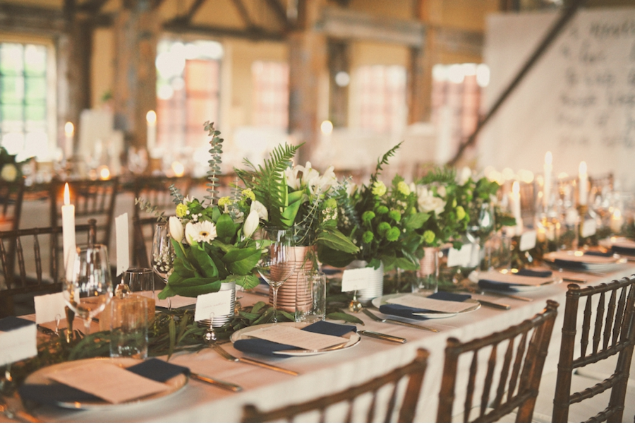 Vale vine industrial location with natural elements home warehouse wedding inspiration junglespirit