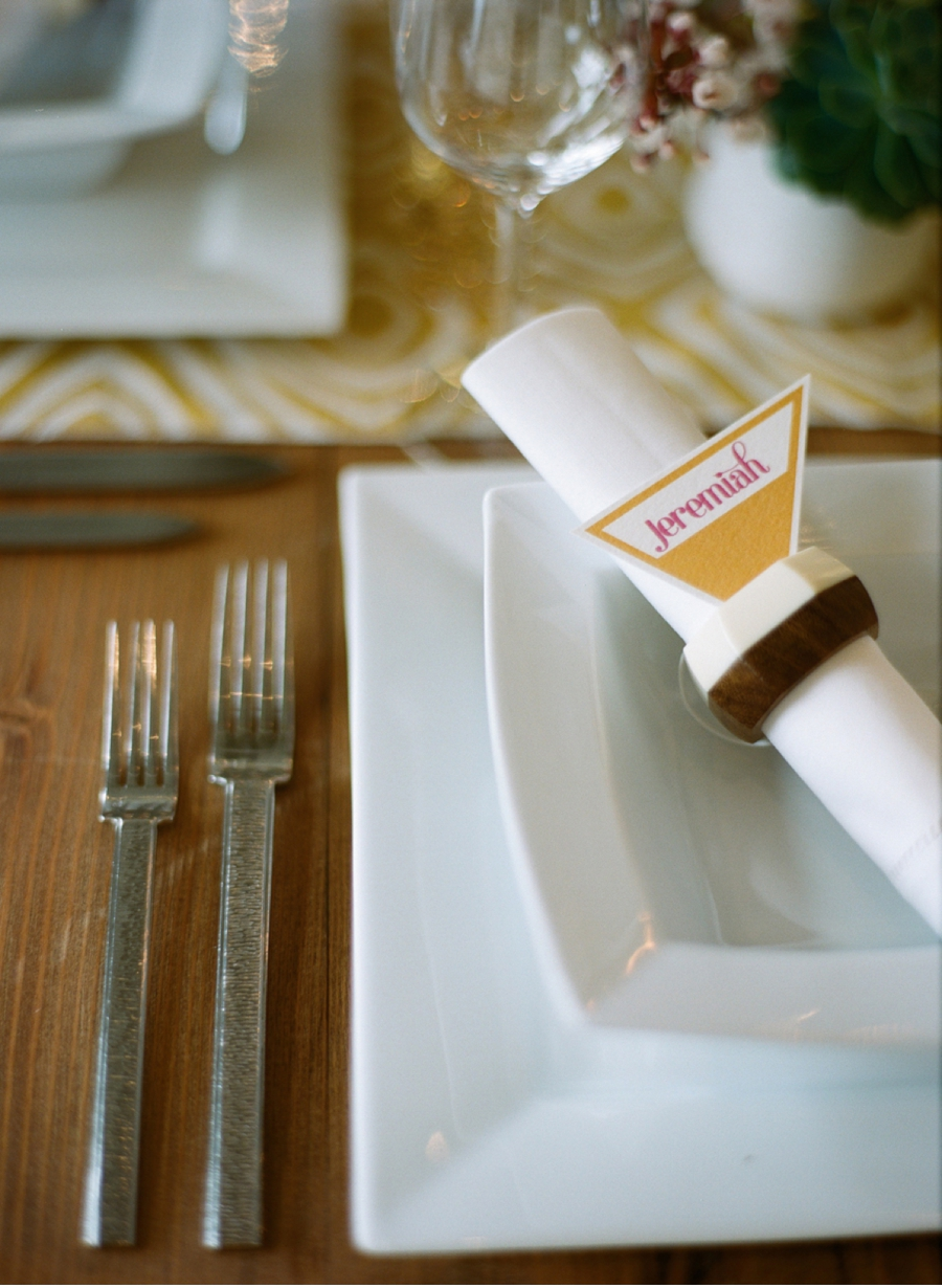 Geometric-Place-Settings-Wedding-Ideas
