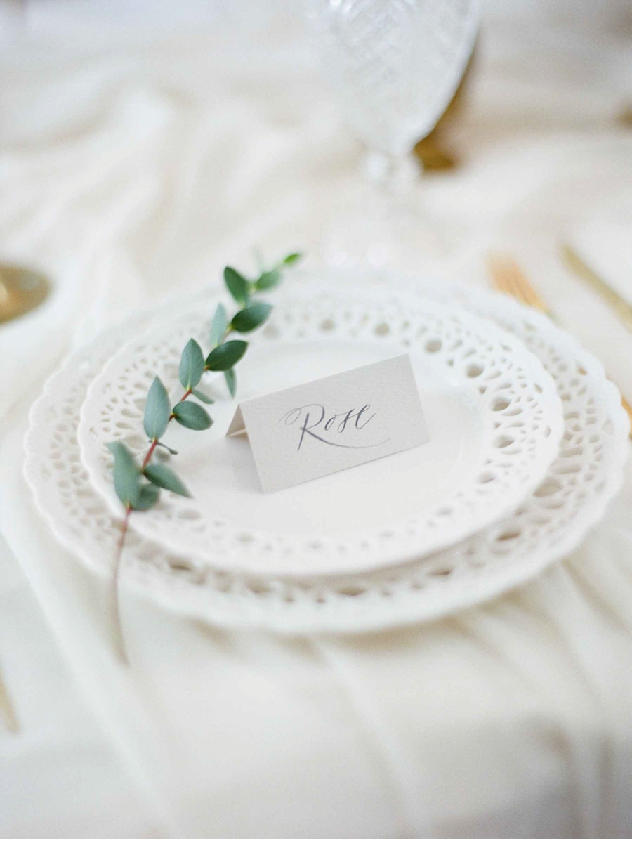 Vale + Vine | Grey, Gold, and White Heirloom Wedding Inspiration | Home