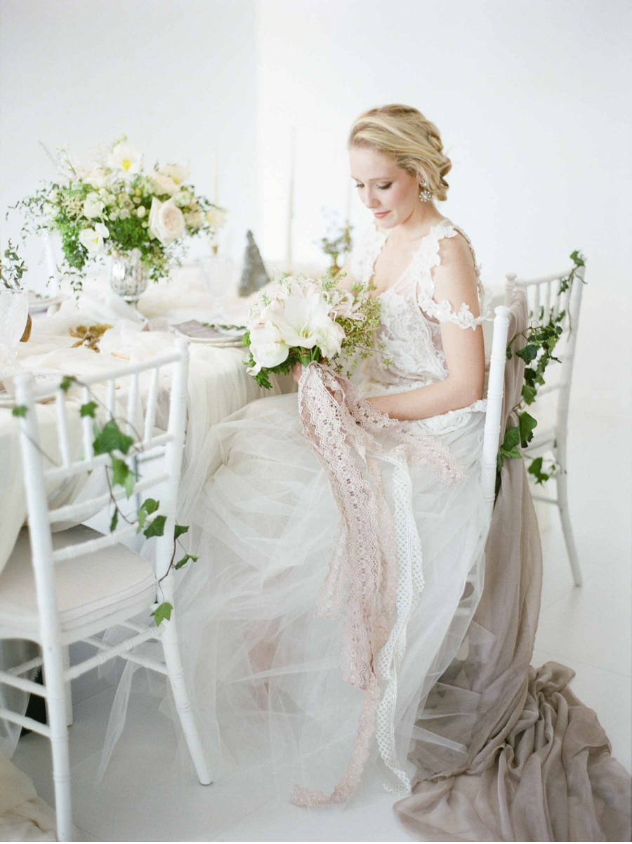 Vale Vine Grey Gold And White Heirloom Wedding Inspiration Home