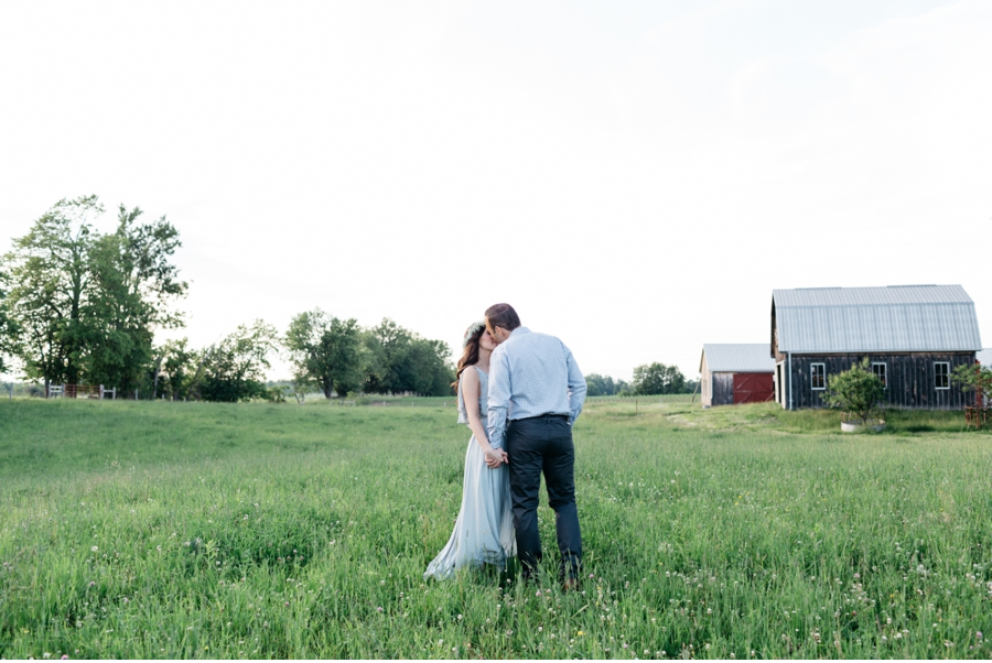 Farm-at-Dusk-Engagement-Session