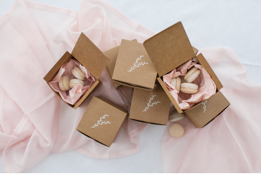 Pink-Macarons-Wedding-Favours