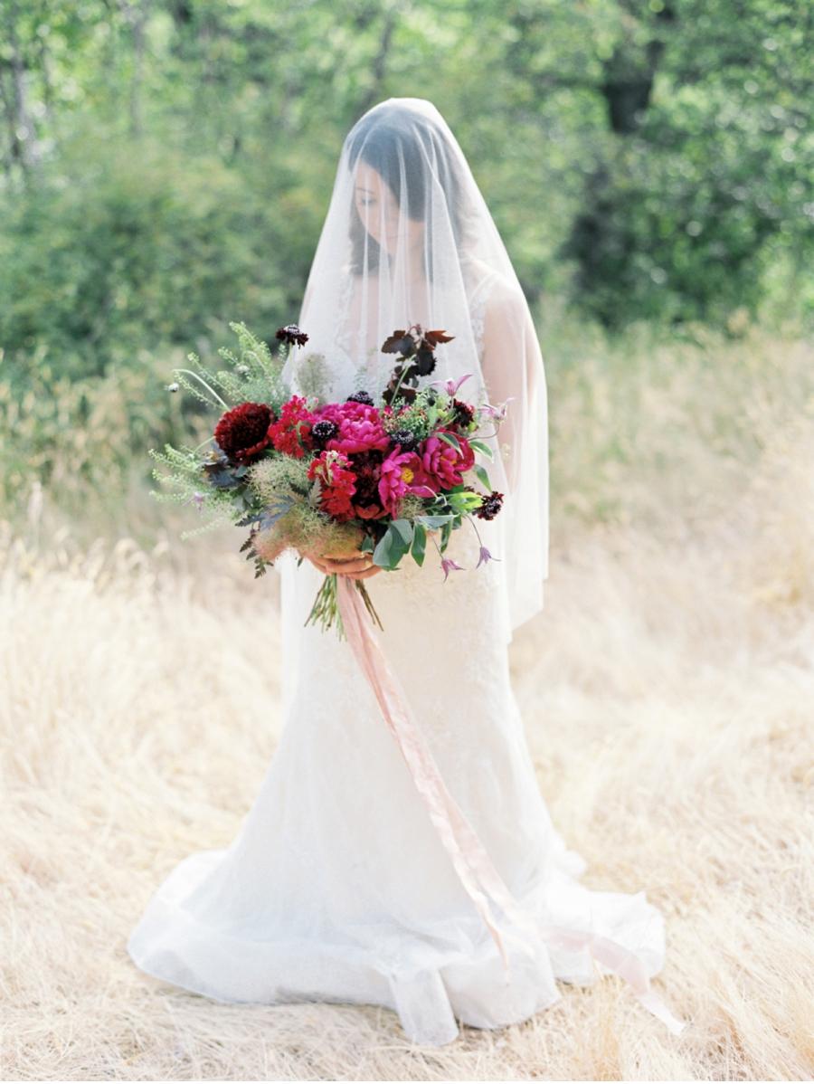 Fuscia-Bridal-Bouquet