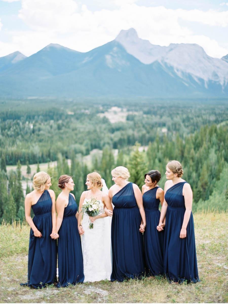 Dark-Blue-Bridesmaid-Dresses