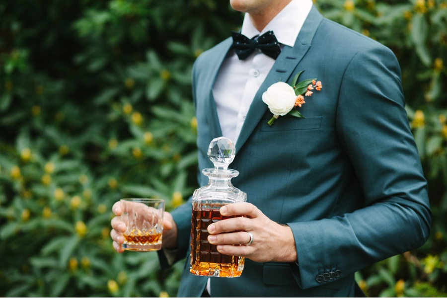 Groom-with-whiskey-scotch-bourbon