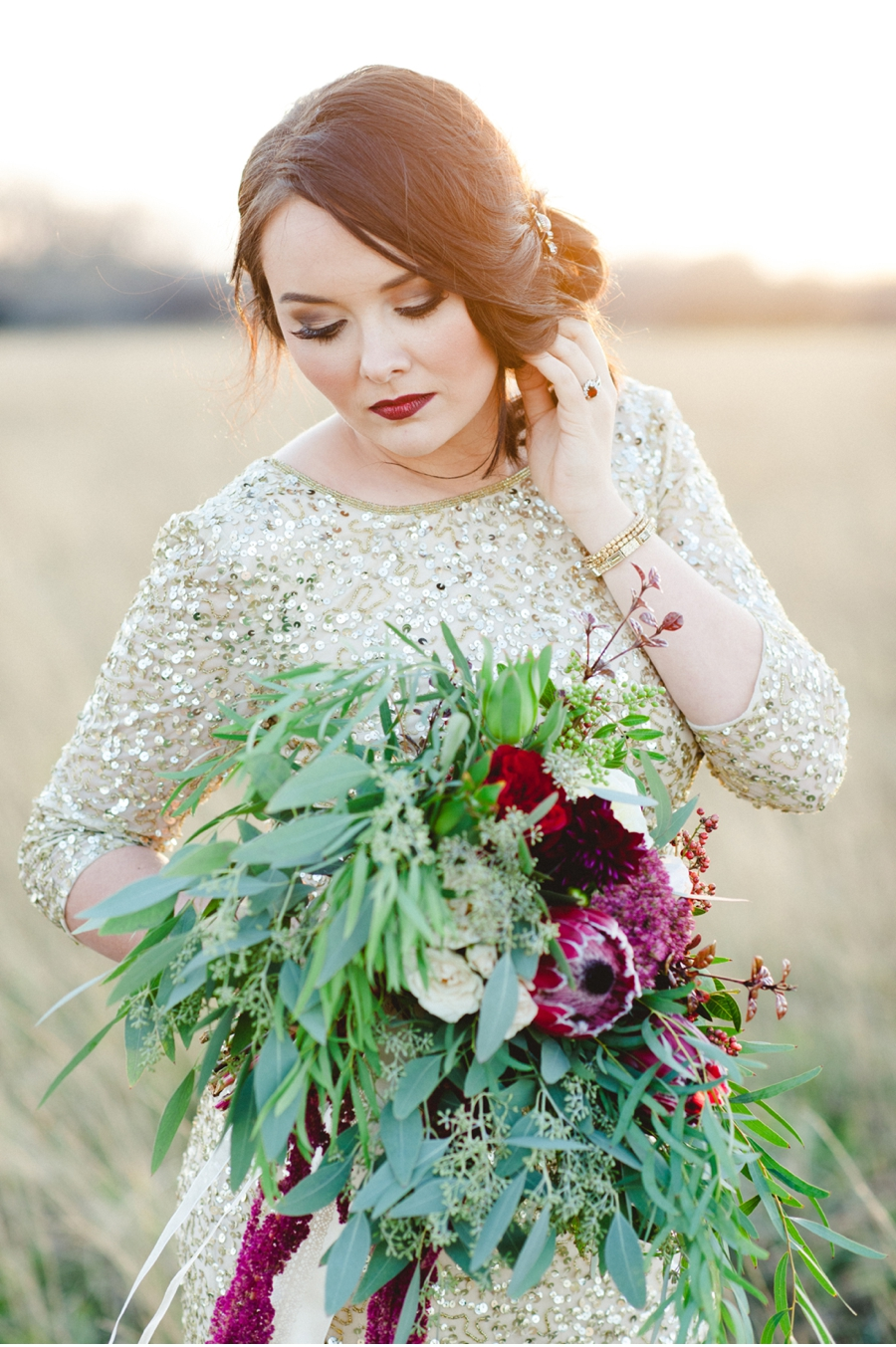 Prairie-Holiday-Wedding-Inspiration