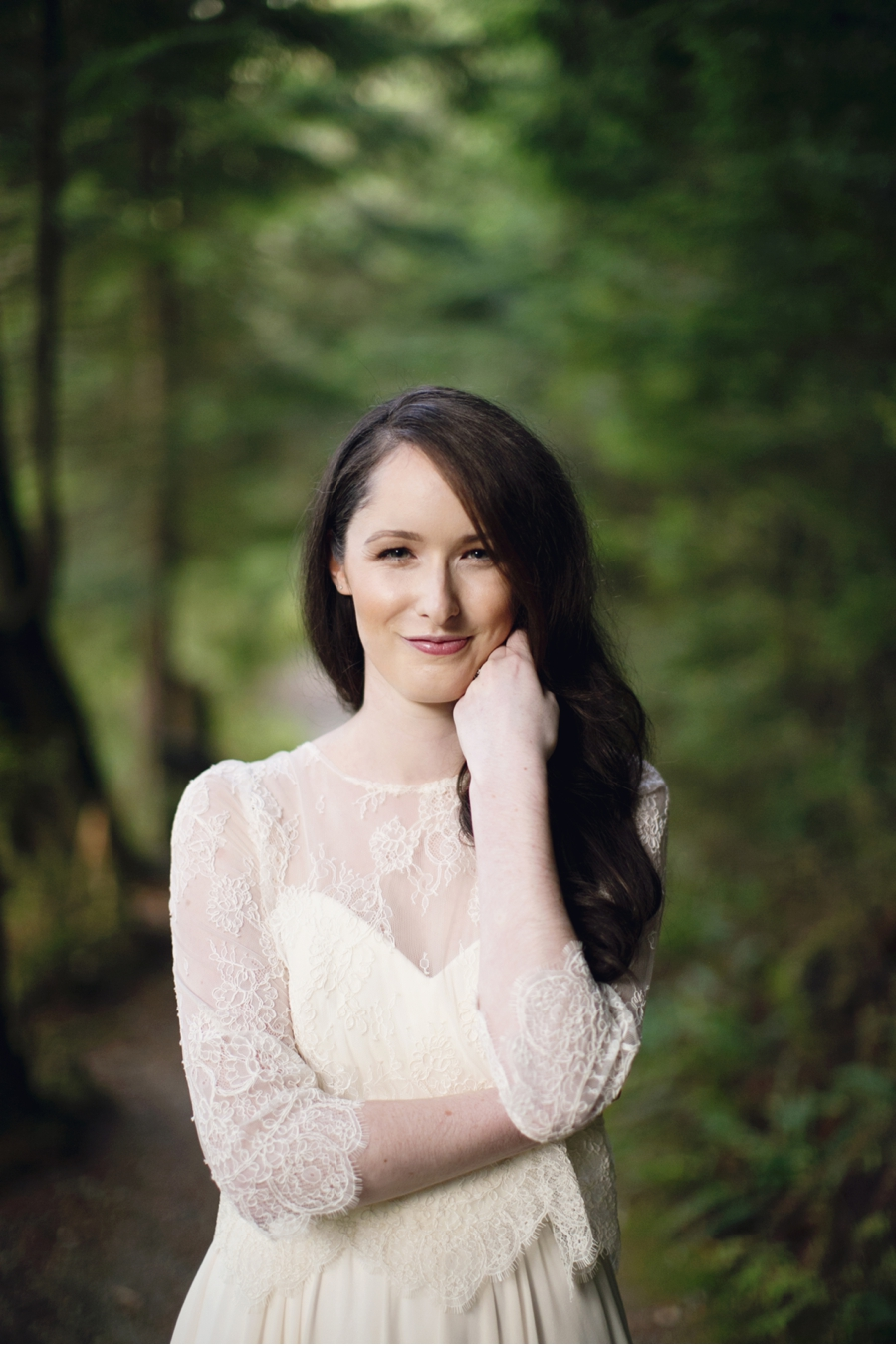 Woodland-Bridal-Look