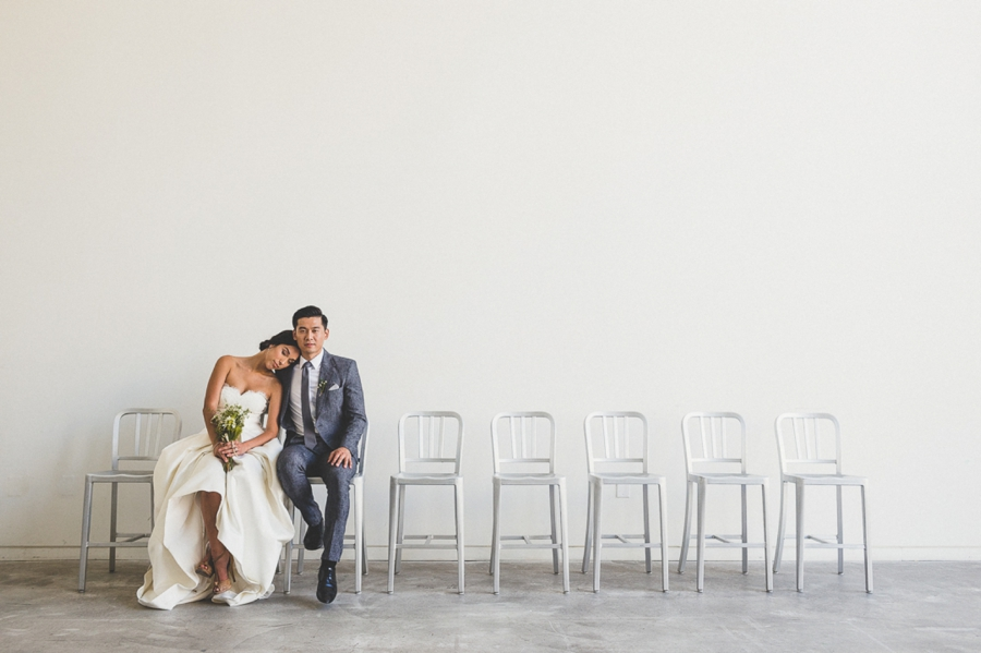 Bride-and-Groom-with-Minimalist-Chairs