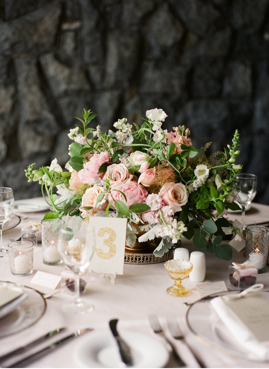 Pastel-Wedding-Reception-Centrepiece