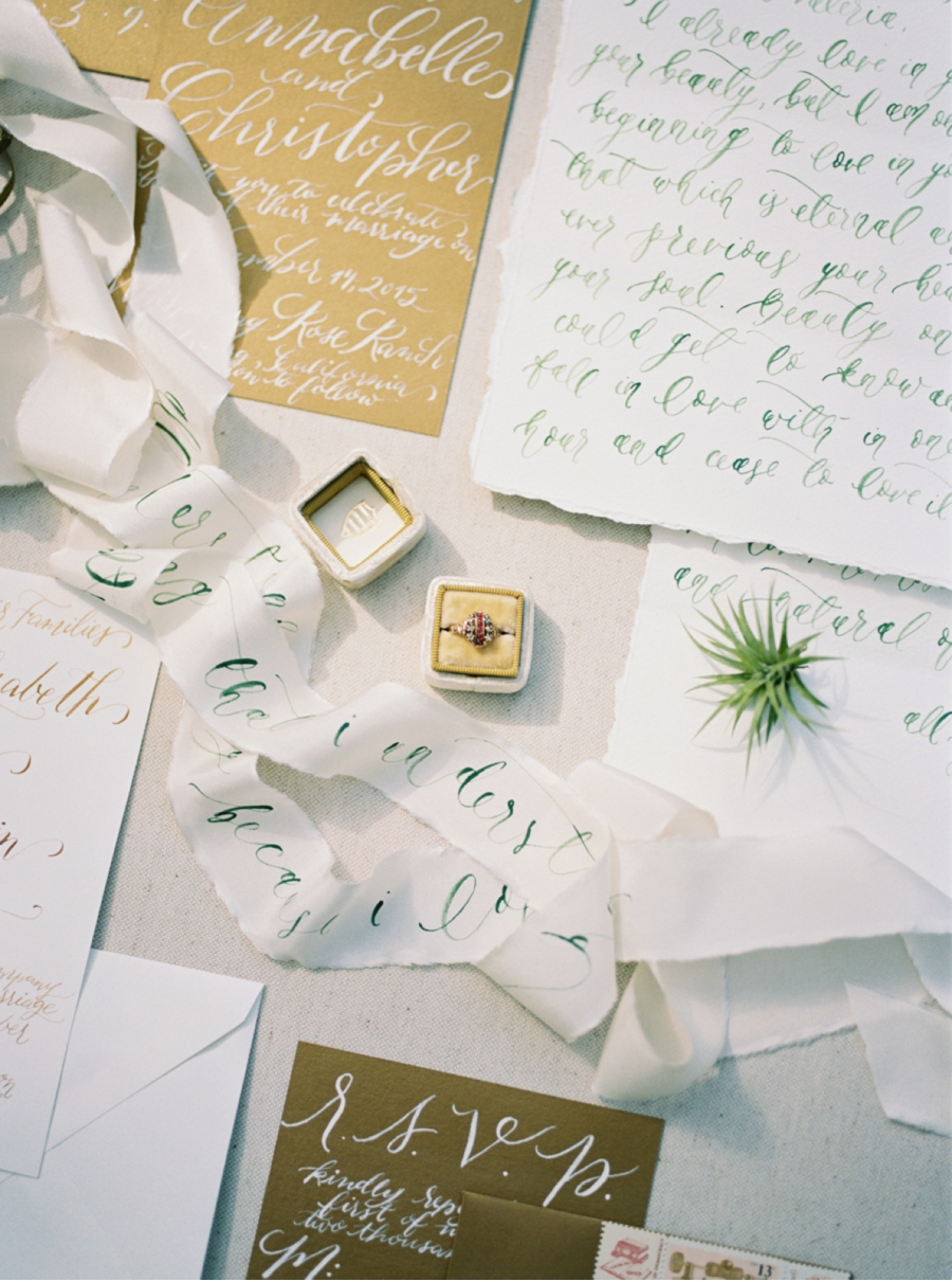 Gold-and-Green-Wedding-Colours
