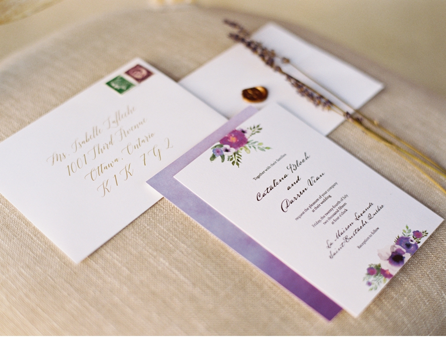 Lavender-Wedding-Stationery