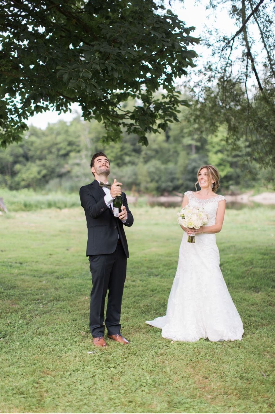 Bride-and-Groom-with-Champagne