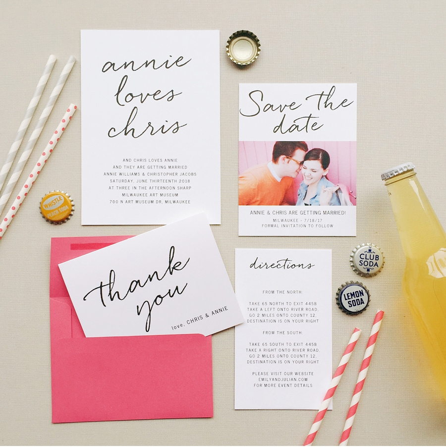 Fun-Informal-Wedding-Stationery