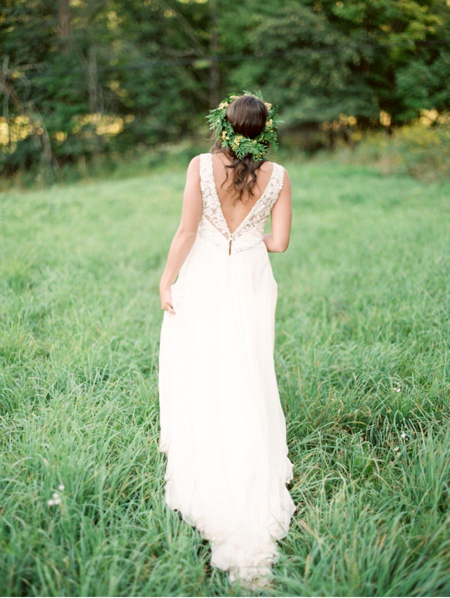 Pastoral-Bridal-Look