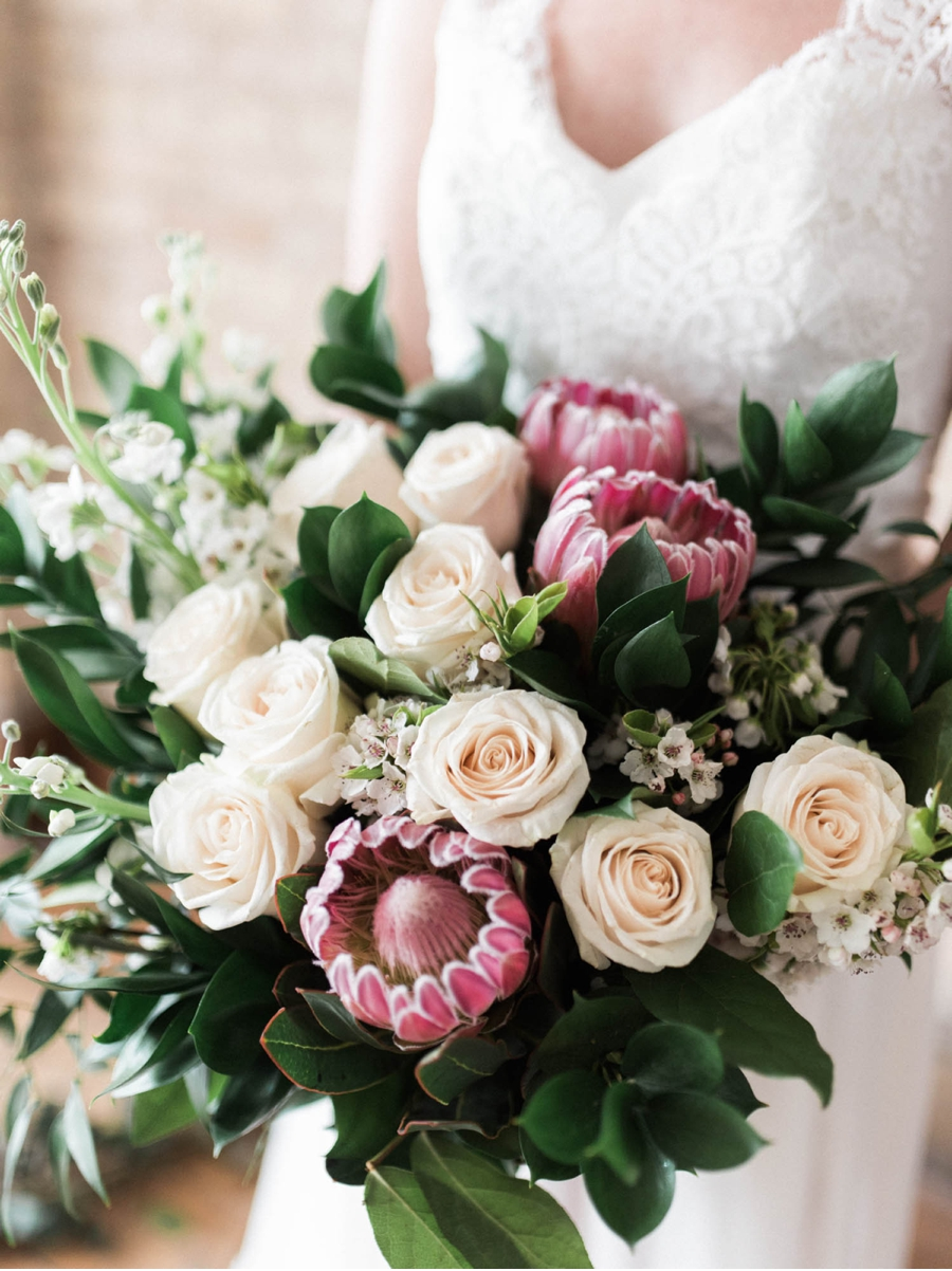 Pink-and-Cream-Wedding-Bouquet