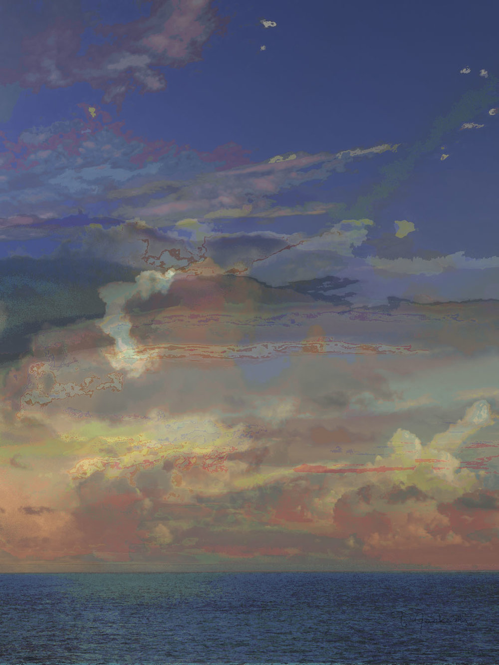 Pied Sky of Proxima b
