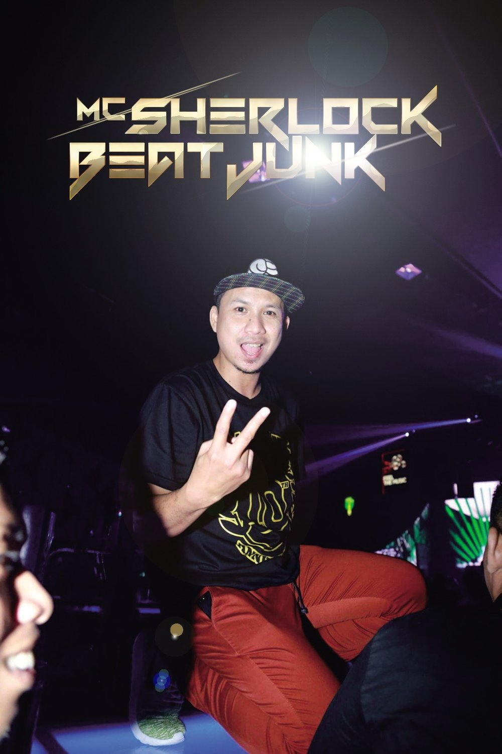 ARIE SHERLOCK BEATJUNK Resident MC @ Royal Club, Makassar