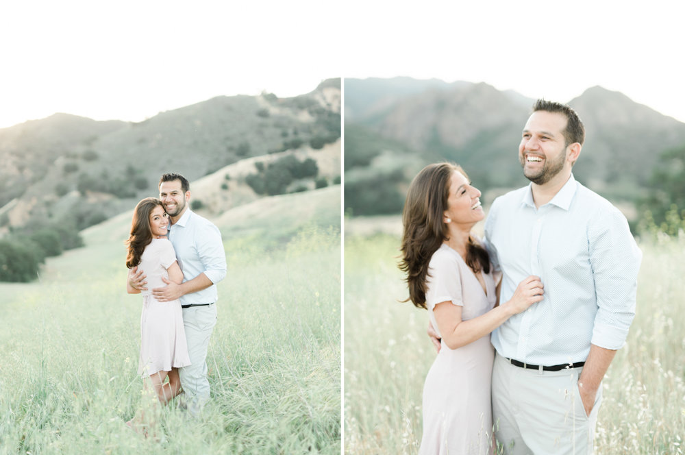 malibu creek state park engagement session photo