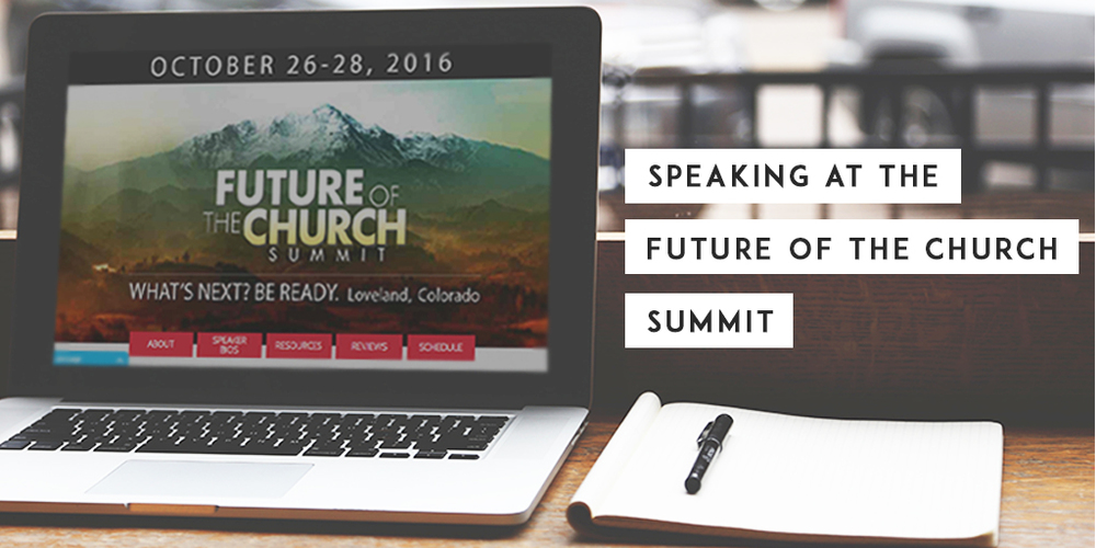 Speaking at the Future of the Church Summit | Nils Smith