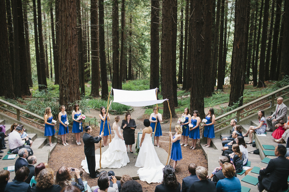 The wedding in theamphitheater.