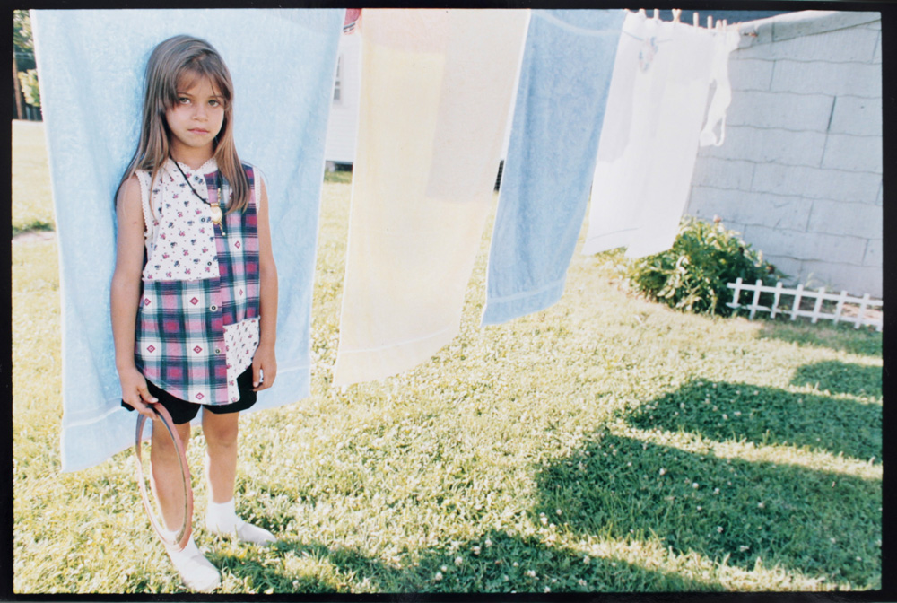A picture I took of Rachael about 20 (yikes!) years ago at our grandma's house.