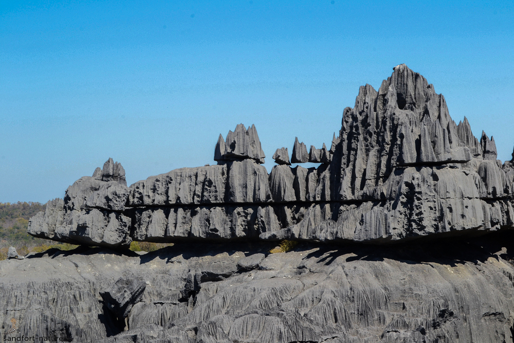Tsingy rock formation