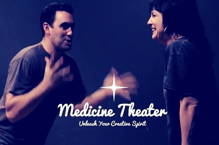 About - Medicine Theater's signature form is the perfect experience for all humans from complete beginners, advanced improvisers and everyone in between: an utterly explosive, deeply transformative, on your feet, body-based style of spontaneous play geared towards opening the portal into our intuitive knowing…