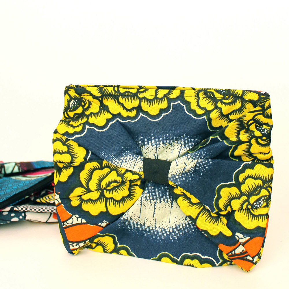 The Spring/Summer 2015 Collection Tresa Bow Clutch, designed & produced by Tresa