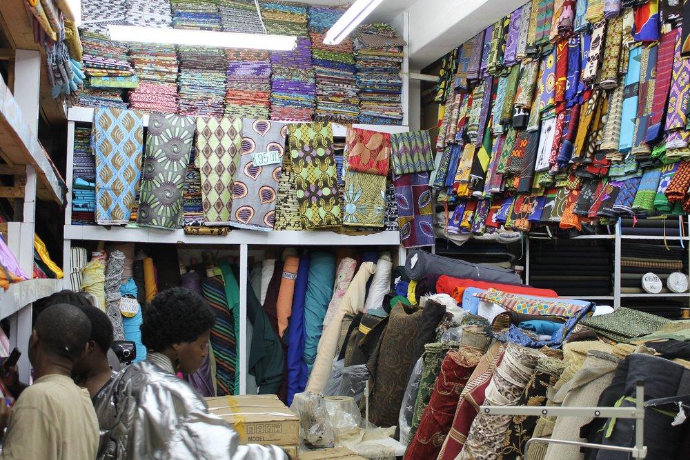The Joanne Fabrics of Lusaka, Zambia