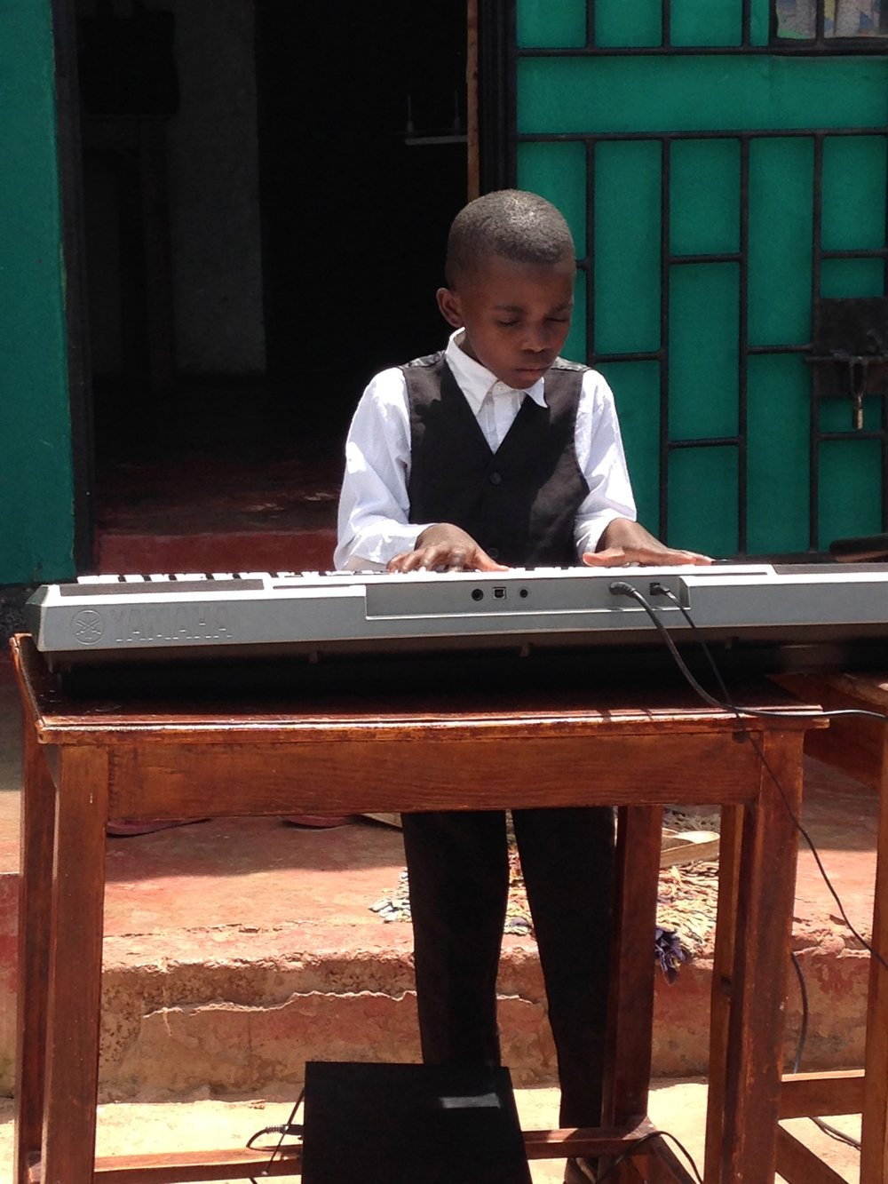 Music by Jona, the youngest child of our Zambia Director, Elina
