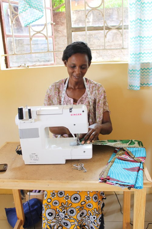 We d love to raise enough funds to purchase at least 20 NEW Sewing Machines  to distribute amongst our 4 training centers. d2122f7030